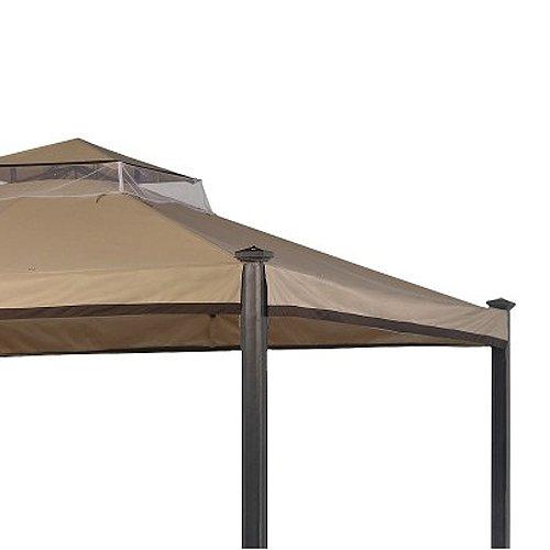 Garden winds everton gazebo replacement canopy riplock 350 for Garden winds replacement canopy