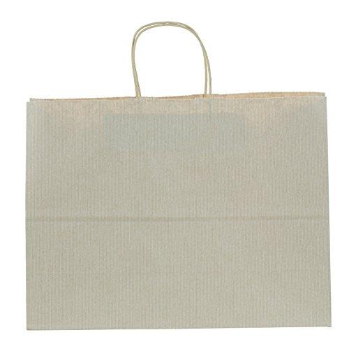 Premier Packaging AMZ-296018 12 Count Pinstripe Shopper Gift Bag, 16 (Paper Shopper Bag)