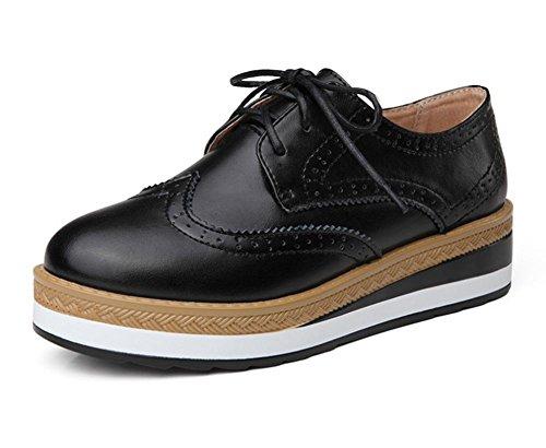 chaussures simples casual femmes des épaisses avec Spring US8 EU39 chaussures plates Mme chaussures semelles dascenseur CN39 UK6 qxPg47xvzw