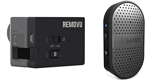 REMOVU RM-M1+A1 Wireless Microphone and Receiver for GoPro HERO4, HERO3+ & HERO3