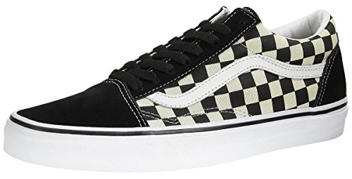 Vans Unisex Old Skool  Black/White VN0A38G1P0S Mens 9, Women