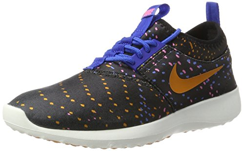 Nike 749552-004, Zapatillas de Trail Running para Mujer Negro (Black / Sunset-game Royal-digital Pink)