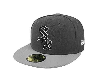 New Era 59Fifty Hat MLB Chicago White Sox Shader Melt 2 Charcoal/Gray Cap