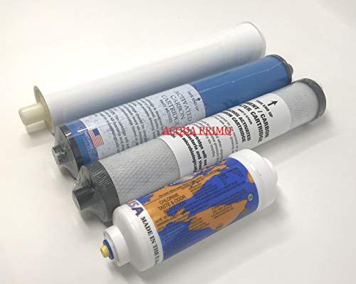Acqua Primo Microline 435 RO Pre & Post Filters with Compatible Replacement Membrane Kit