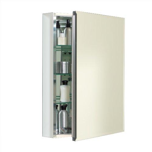 Zenith Mra2026 Beveled Mirror Medicine Cabinet 20 Inch Frameless Home Garden Bathroom