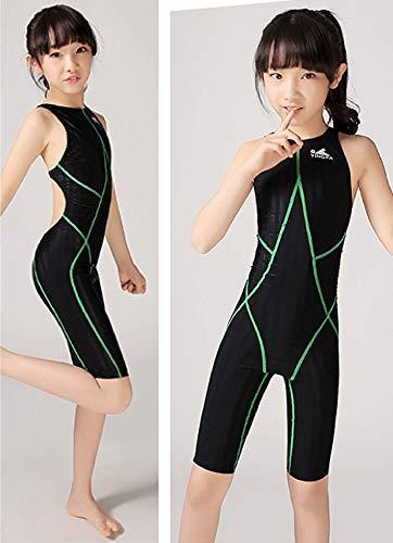 0992130513b08 YingFa FINA Approved Swimsuit one Piece Racing Swimsuit for Girls Training  Swimsuit, Girl's Size 4-6 (Speedo Size 24) 937-2 Kneeskin Swimsuit