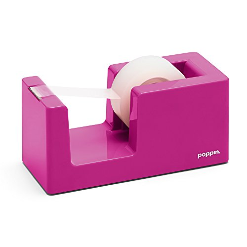 Poppin Tape Dispenser, Pink by Poppin