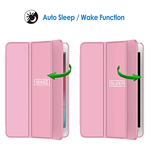 JETech Case for iPad Mini 5 (2019 Model 5th Generation), Smart Cover with Auto Sleep/Wake, Pink