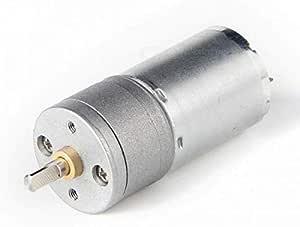 محرك تيار مستمر 12 فولت موجود، 8.8 كجم، 250 دورة في الدقيقة