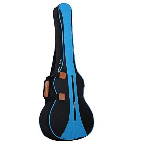 Gitarrentasche für Akustik Konzertgitarre Klassikgitarren nicht Gitarren Koffer 36 Zoll (Blau)