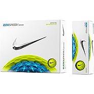 Nike 61301 RZN Speed White Volt Golf Balls - 1 Dozen