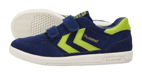 Hummel , Baskets mode pour garçon bleu bleu