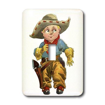 3d Rose 3dRose LLC lsp_37446_1 Cute Little Cowboy, Single...