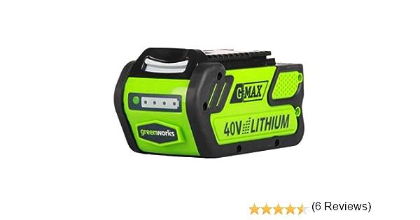 Greenworks Tools 29727 - Batería para herramienta (40V) 4 Ah, color: verde