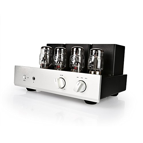 70W Push-Pull KT88 High-Power Tube Amplifier, 2 Pairs of KT88 Tubes, Metal Shield DEAFidelity