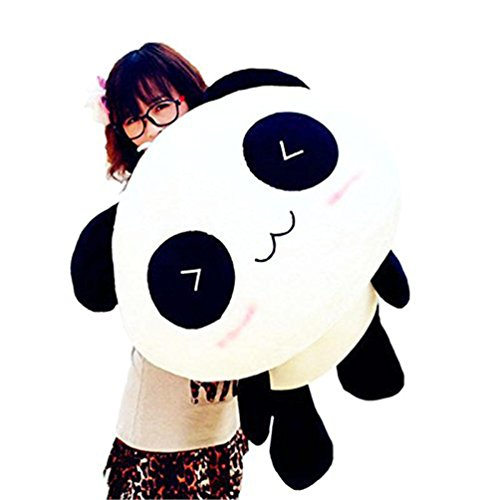 bjduck99 Kawaii Cute Plush Doll Toy Animal Giant Panda Pillow Soft Stuffed Bolster (Kawaii Panda Plush)