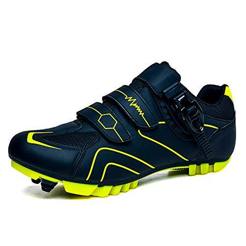 Gogodoing Heren MTB Fietsschoenen Outdoor Sport Fietsschoenen Zelfsluitende Professionele Racing Racefiets Schoenen…