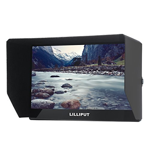 "Lilliput A12 Monitor DSLR Camera 12.5"" 4K HDMI 3G-SDI 3840X2160 Monitor for SONY FS5 FS7 F5 F55 RED SCARLET-W WEAPON RAVEN EPIC-W ARRI ALEXA Mini Canon C200 C300 II DJI Ronin"
