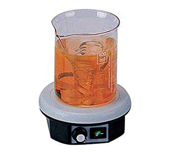 Apera Instruments AI2801 Magnetic Lab Stirrer/Stir Plate, 801 Powerful, Speed Range: 0 rpm-2300 rpm, Max Stirring Capacity: 3000 mL AI2801-GB