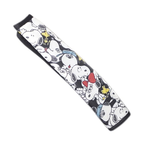 BONFORM (Bonn form) Car Accessories Snoopy party belt pad black 7502-16BK