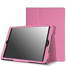 MoKo iPad Air Case - Slim Folding Case for Apple iPad Air / iPad 5 9.7 Inch 2013 Tablet, PINK (With Auto Wake / Sleep, Not fit iPad Air 2 2014)