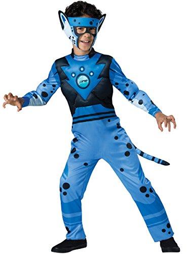Boys Cheetah Costumes (InCharacter Costumes Cheetah - Blue Costume, One Color, 6)