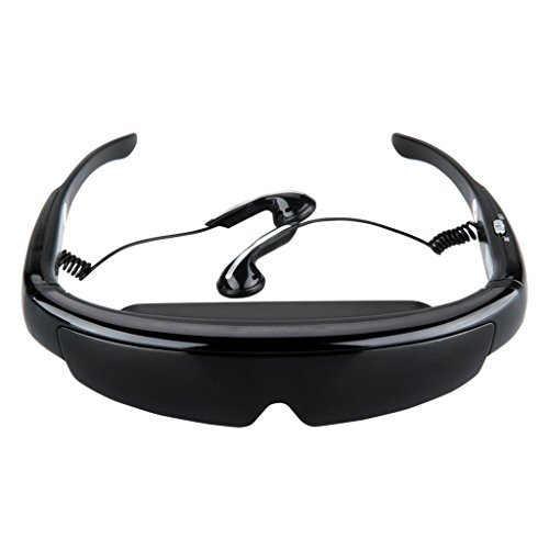 Generic Mobile Theatre Video Glasses - Movies on 52 Inch Virtual Screen Digital Portable Video Glasses 3D Stereo Personal Theater AV IN for PS2/3 XBOX