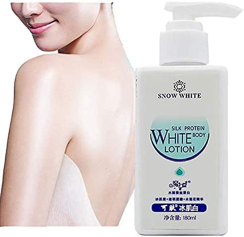 Skin whitening body lotion for women snow white cream care for stretch marks emma lightening cream dark skin pink privates by Superjune