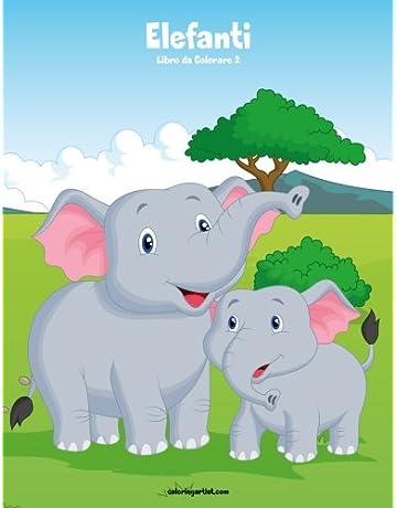 Elefanti Animali Libri Amazonit
