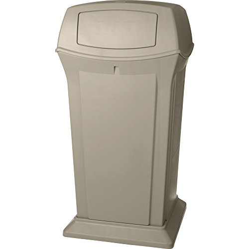Rubbermaid Commercial FG917500BEIG 65 gallon Capacity, 24-7/8