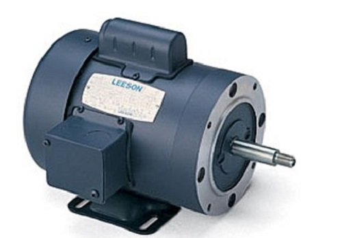 (Leeson 113957.00 Jet Pump Motor, 1 Phase, 56J Frame, Rigid Mounting, 1HP, 3600 RPM, 115/208-230V Voltage, 60Hz Fequency)