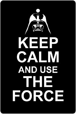 keep calm and use the force car air freshener xmas christmas
