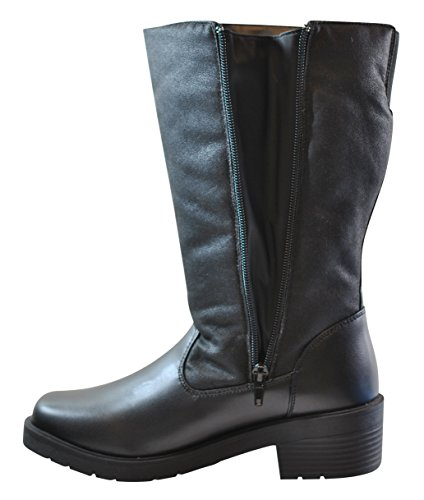 totes Womens Sandi Side Zip Cold Weather Boot (Also