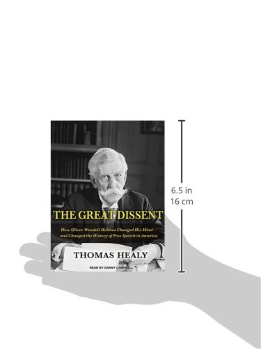 The Great Dissent: How Oliver Wendell Holmes Changed His Mind-and Changed the History of Free Speech in America