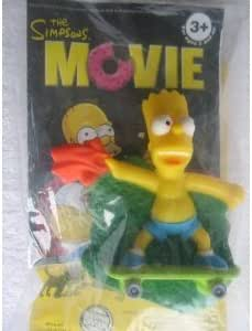 Amazon Com Bart Simpson On Skateboard Burger King The Simpsons Movie Toy 2007 Other Products Everything Else