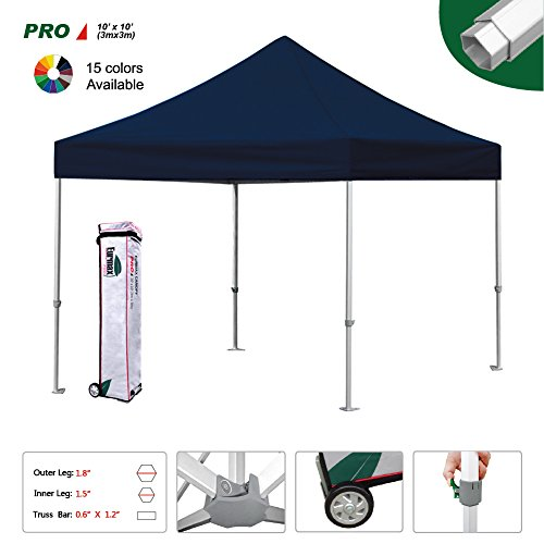Eurmax Pro 10x10 Ez Pop Up Canopy Wedding Party Tent Inst...