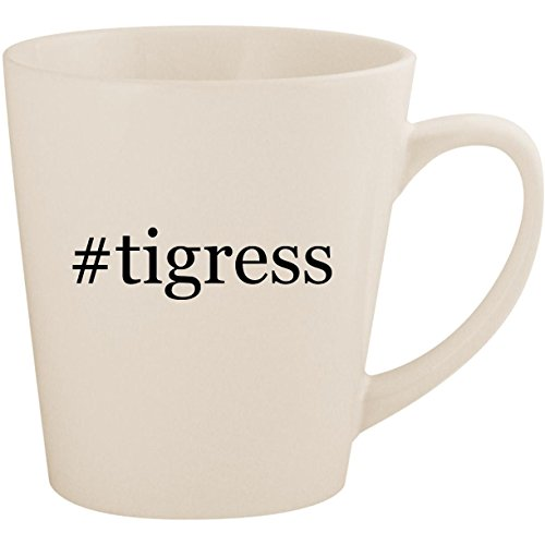 #tigress - White Hashtag 12oz Ceramic Latte Mug Cup for sale  Delivered anywhere in USA