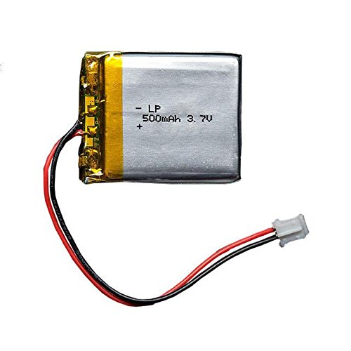 Polymer Lithium Ion Battery (ADAFRUIT INDUSTRIES 1578 Lithium Ion Polymer Battery - 3.7v 500mAh)