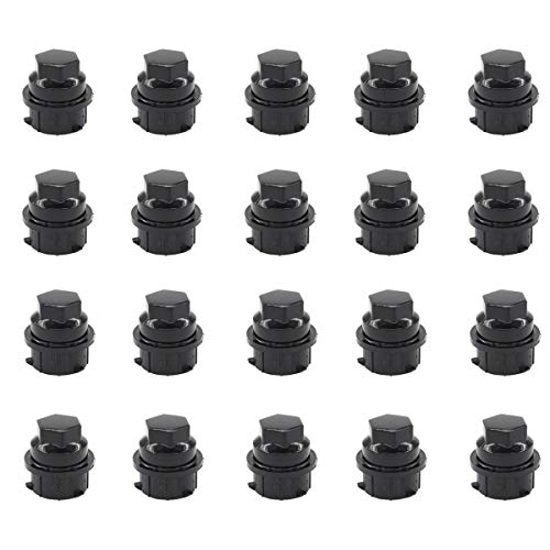 Mitsubishi Honda Bang4buck 20 Pieces Red Spike Lug Nuts M12X1.5 Aluminum Wheel Tire Screw for Ford Chevrolet Buick,Toyota