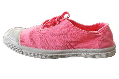 bensimon-bensimon à lacets-rose-fille