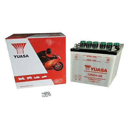 YUASA batterij 12N24-3A open zonder zuur