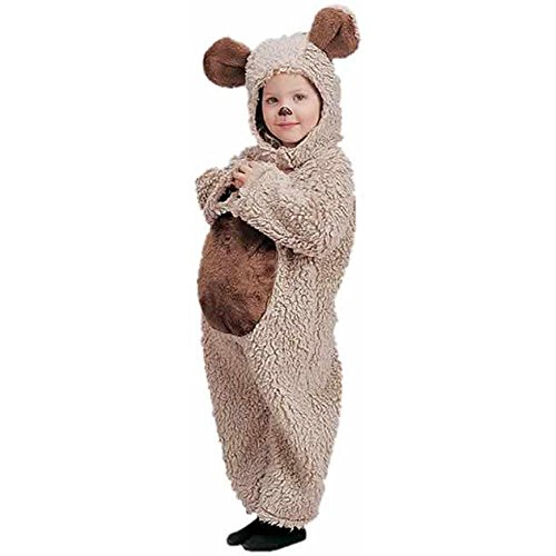 Kid's Oatmeal Bear Costume (Size:X-small 4-6)