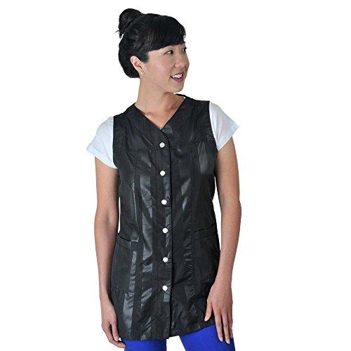 JMT Beauty Sleeveless Modern Black Strap XXL (Strap Smock)