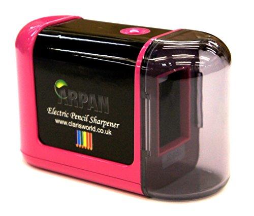 Arpan Desktop Sharpener - Battery Powered Pencil Sharpener/
