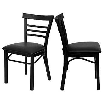 Amazon Com Modern Style Metal Dining Chairs School Bar Restaurant