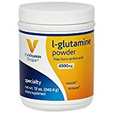 The Vitamin Shoppe LGluramine Powder 4.5G, A Free Form Amino Acid, Supports Muscle Recovery Immune Health (12 Ounces Powder) Review