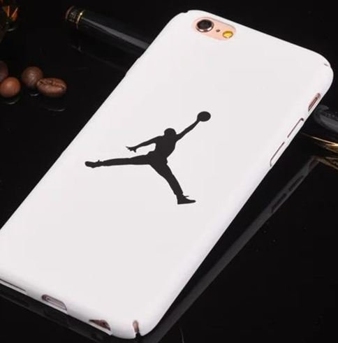 Coque Iphone 7 Air J. Basketball Blanche (livraison gratuite en France)