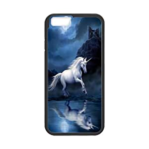 "[H-DIY CASE] For Apple Iphone 6,4.7"" screen -Unicorn and Pegasus-CASE-19"