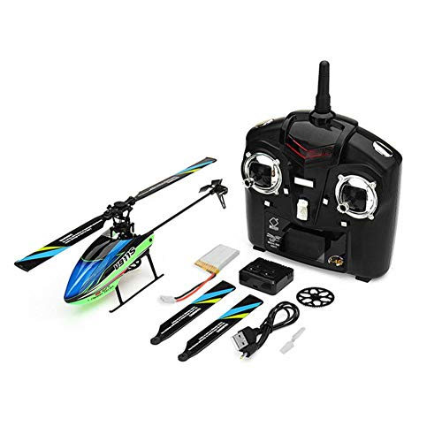 Blueyouth RC Airplane - WLtoys V911S 2.4G 4CH RC Helicopter Aircraft Four-Way Single-Propeller Without Aileron Aircraft 6-Axis Gyroscope ()