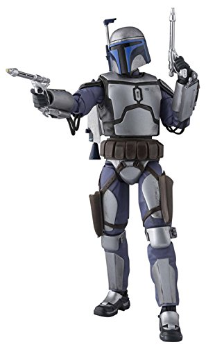 S.H.Figuarts Star Wars Jango Fetts150mm PVC&ABS made/painted/Action -